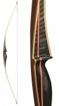 Luk Longbow Bearpaw BlackFoot 66""